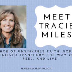 Conclusion to interview with Tracie Miles; Strategies to Transform the Way You Think