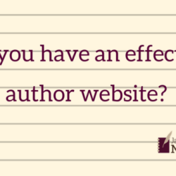 Do you have an effective author website? (sponsored post)